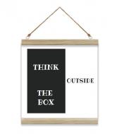 Obraz na sznurku, Box, 40x40 cm