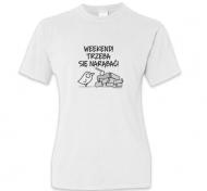 Koszulka damska, Kolekcja Ptaszek Staszek - Weekend