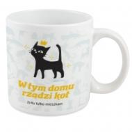 Kubek, Kolekcja Typowy Kot - W tym domu rządzi kot