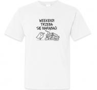 Koszulka męska, Kolekcja Ptaszek Staszek - Weekend