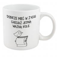 Kubek, Kolekcja Ptaszek Staszek - Ważna rola - kubek XXL