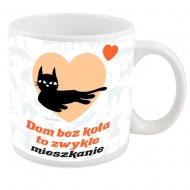 Kubek, Kolekcja Typowy Kot - Dom bez kota - kubek XXL