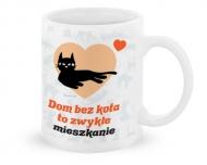 Kubek, Kolekcja Typowy Kot - Dom bez kota