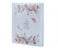 Album na zdjęcia Pióra róż - 300 zdjęć, 20x25 cm