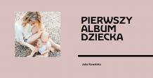 Pierwszy album dziecka (róż) fotoksiążka, 20x20 cm