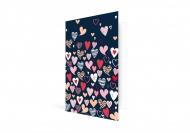 Fotokartki Kartka  Walentynkowa Granatowa, 10x15  cm