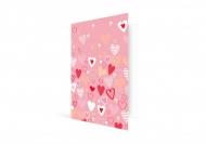 Fotokartki Kartka Walentynkowa Różowa, 10x15  cm
