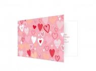 Fotokartki Kartka Walentynkowa Różowa, 15x10 cm