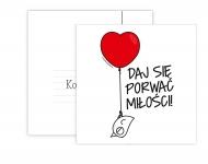 Fotokartki Kolekcja Ptaszek Staszek - Daj się porwać miłości, 14x14 cm