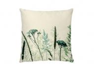 Poszewka, bawełna ekologiczna, Trawy, 38x38 cm