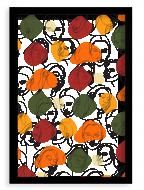 Plakat w ramce, Women II - czarna ramka, 20x30 cm