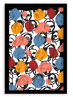 Plakat w ramce, Women - czarna ramka, 20x30 cm