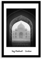 Plakat w ramce, Taj Mahal, 20x30 cm