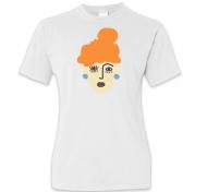 Koszulka damska, Runs the world - ruda