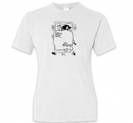 Koszulka damska, Kolekcja Porysunki - Budzik