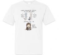 Koszulka damska, Kolekcja Rynn Rysuje - Dwie grupy ludzi - męska