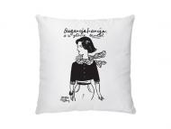 Poduszka, bawełna, Kolekcja Porysunki - Elegancja Francja, 25x25 cm