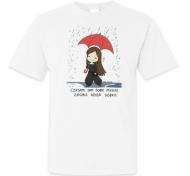 Koszulka męska, Kolekcja Rynn rysuje - Zrób sobie dzień dobry - męska
