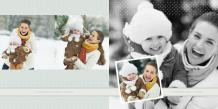 Fotoksiążka Nasze zimowe chwile, 20x20 cm