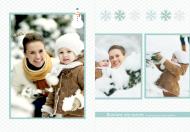 Fotoksiążka Nasze zimowe chwile, 20x30 cm