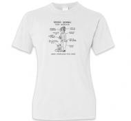 Koszulka damska, Kolekcja Nie mogę, trzymam dziecko - Rodzic Zombie