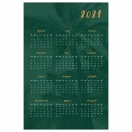 Plakat, Kalendarz - palmy, 40x60 cm