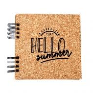 Album korkowy Hello Summer, 20x20 cm