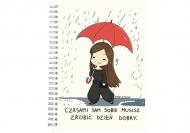 Notes Kolekcja Rynn rysuje - Zrób sobie dzień dobry - linie, 15x21 cm