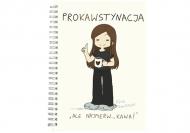 Notes Kolekcja Rynn Rysuje - Prokawstynacja - kropki, 15x21 cm