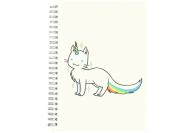 Notes Kolekcja Rynn rysuje - Unicat - linie, 15x21 cm