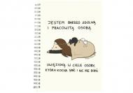 Notes Kolekcja Rynn rysuje - Uwięziona - linie, 15x21 cm