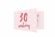 Fotokartki Na 30ste urodziny, 15x10 cm