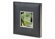 Album na zdjęcia Wklejany ekoskóra szary - 120 zdjęć, 25x25 cm