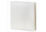 Album na zdjęcia Wklejany ekoskóra biały - 300 zdjeć, 30x30 cm