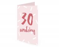 Fotokartki Na 30ste urodziny, 15x20 cm