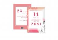 Fotokartki Kolorowe urodziny, 15x20 cm