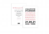 Fotokartki Życzenia ślubne - tekst, 15x20 cm