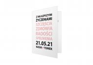 Fotokartki Życzenia ślubne - tekst, 10x15  cm