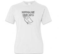 Koszulka damska, Kolekcja Ptaszek Staszek - Normalnie mnie nosi - damska