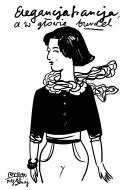 Torba, 38x42, Kolekcja Porysunki - Elegancja Francja