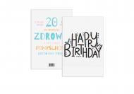 Fotokartki Kolorowe Happy Birthday, 15x20 cm