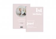 Fotokartki Pierwsze urodziny, 15x20 cm