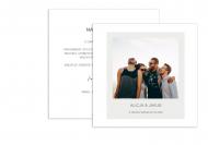 Fotokartki Dla Młodej Pary, 14x14 cm