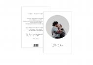 Fotokartki Z okazji Ślubu - Minimalistyczne, 15x20 cm
