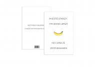 Fotokartki Banan, 15x20 cm