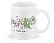 Kubek, Kolekcja Długopisem Malowane - Wincyj roślin - kubek klasyczny