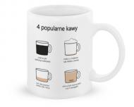 Kubek, Kolekcja Długopisem Malowane - Popularne kawy - kubek klasyczny