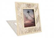Ramka drewniana na zdjęcie Liście monstery, 18x22 cm