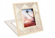 Ramka drewniana na zdjęcie Geometryczna , 18x22 cm