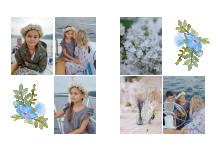 Fotoksiążka Pierwsza Komunia w kwiatach, 20x30 cm